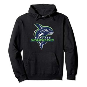 Seattle Seawolves: Logo Pullover Hoodie