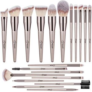 BESTOPE Makeup Brushes 20 PCs Makeup Brush Set Premium Synthetic Contour Concealers Foundation Powder Eye Shadows Makeup…
