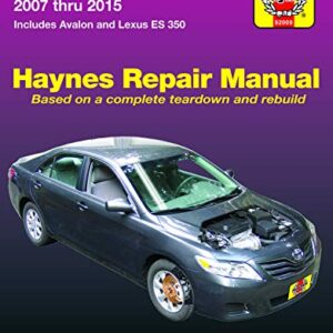 Toyota Camry & Avalon & Lexus ES 350 (07-15) Haynes Repair Manual (Does not include information specific to hybrid…