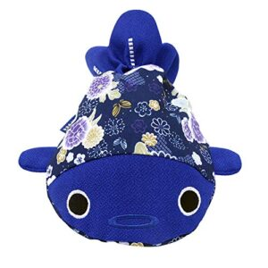 BARbee Japanese Chirimen & Kimono Print Goldfish Drawstring Pouch Coin Purse Cosmetic Jewelry Key Bag