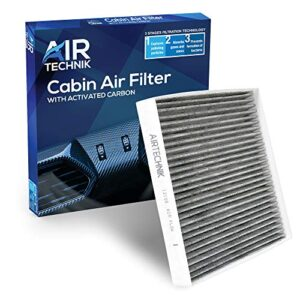 AirTechnik CF12159 Cabin Air Filter w/Activated Carbon | Fits Hyundai Sonata Hybrid ONLY 2016-2019 / Kia Optima 2016…