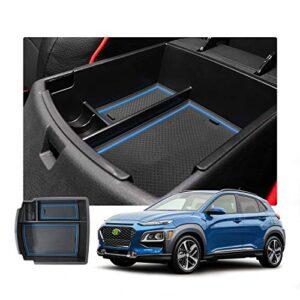 Customized For 2018 2019 2020 2021 2022 Kona Car Center Console Armrest Box Glove Secondary Storage Console Organizer…
