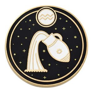 REAL SIC Astrological Sign Pin – Star Sign / Astrology Enamel Pins, Lapel Pins for Birth Sign, Great Gift for Anyone…
