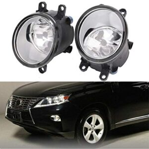 Fog lights Assembly for Toyota Camry Corolla Avalon Venza RAV4 Yaris Highlander Matrix Prius Solara Lexus GS RX 350 450h…