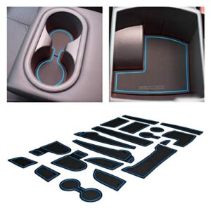 CupHolderHero for Hyundai Kona Accessories 2018-2021 Premium Custom Interior Non-Slip Anti Dust Cup Holder Inserts…