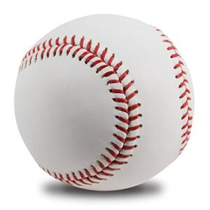 No Worry Sports All-American Adult/Youth Blank Baseball for League Play, Practice, Competitions, Gifts, Keepsakes, Arts…