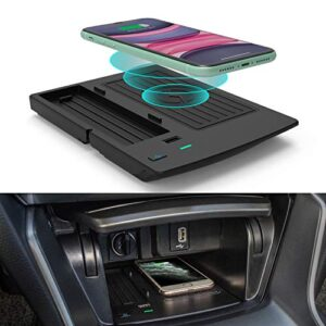 CarQiWireless Wireless Charger for Honda Accord 2018 2019 2020 2021 Accessories, Phone Wireless Charging Pad Mat Fit for…