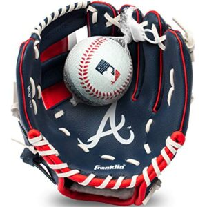 Franklin Sports MLB Youth Teeball Glove and Ball Set – Kids Baseball and Teeball Glove and Ball – Perfect First Kids…