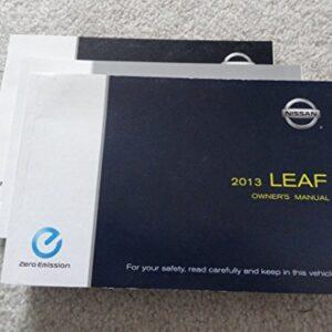 2013 Nissan Leaf Owners Manual