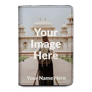 Personalized RFID Passport Holder Cover – Travel Wallet – Upload Your Image