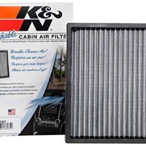 K&N Premium Cabin Air Filter: High Performance, Washable, Clean Airflow to your Cabin: Fits 2012-2020 HYUNDAI/KIA…
