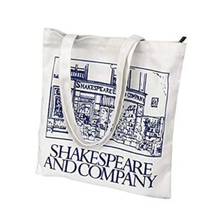 Women's Canvas Shoulder Hand Bag Tote Bag Canvas Tote Shoulder Bag Stylish Shopping Casual Bag Foldaway Travel Bag Blue