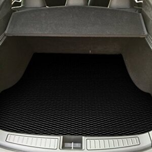 TOUGHPRO Cargo/Trunk Mat Accessories Compatible with Tesla Model S – All Weather – Heavy Duty – (Made in USA) – Black…