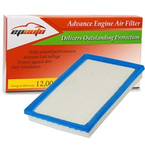 EPAuto GP677 (CA10677) Replacement for Panel Engine Air Filter for Avalon Hybrid(2013-2018), Camry Hybrid(2012-2017…