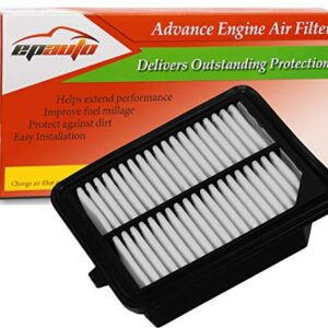 EPAuto GP399 (CA11399) Replacement for Honda Extra Guard Rigid Panel Air Filter for Accord Accord Hybrid/Plug-In (2014…