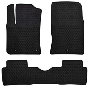 Megiteller Car Floor Mats Custom Fit for Hyundai Kona 2018 2019 2020 2021 (No Electric Models) Odorless Washable Heavy…