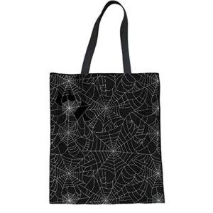 HUGS IDEA Cat Music Print Tote Bag Women's Fashion Handbag Travel Beach Shoulder Bags