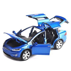 ANTSIR Car Model X 1:32 Scale Alloy diecast Pull Back Electronic Toys with Lights and Music,Mini Vehicles Toys for Kids…