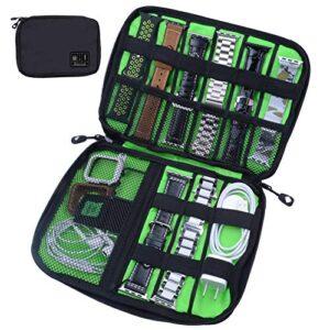 baozai Smart Watch Bands Organizer, Waterproof Portable Electronics Travel Accessories Organizer Bag for Watch Bands…