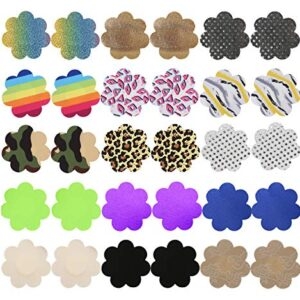 Disposable Pasties Adhesive Nipple Covers Lingerie Breast Pasties Petals for Women