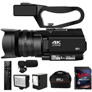 Camcorder 4K 48MP 30X