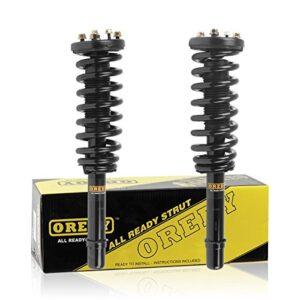 OREDY Shocks Struts 2PCS Front Struts and Shocks Coil Spring Complete Struts Assembly 172123L 172123R 11871 11872 SR4122…