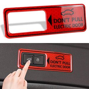 LUNQIN Power Tailgate Lift Warning Sticker for Audi A4 A5 A6 A7 A8 S5 S6 Q3 Q5 Q7 Q8 e-tron Interior Decoration Vehicle…