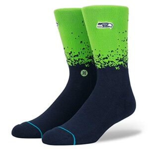 Stance NFL Seahawks Fade Green Large (Men's Shoe 9-12)