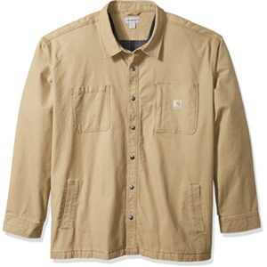 Carhartt Men's Big & Tall Rugged Flex Rigby Shirt Jacket