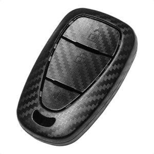 TANGSEN Smart Key Fob Case for CHEVROLET BLAZER CRUZE EQUINOX SONIC SPARK TRAVERSE TRAX 3 Button Keyless Entry Remote…