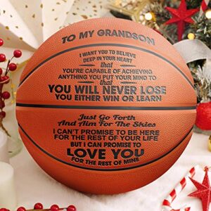 GadgetsTalk Engraved Basketball Gift – You Will Never Lose