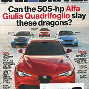 Car and Driver Magazine 2017 NEW CARARO ZL1 TESTED, LEXUS LS REVEALED New Racing Tech Destined For The Road DRIVEN BMW…